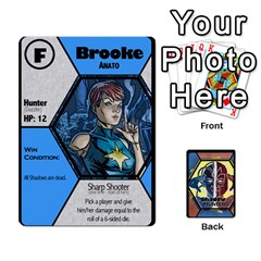 Shadow Hunters / X Men Re Theme (bill s Wedding) By Ajax   Playing Cards 54 Designs   Ky9a8659osmz   Www Artscow Com Front - Diamond6