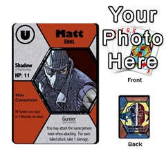Shadow Hunters / X Men Re Theme (bill s Wedding) By Ajax   Playing Cards 54 Designs   Ky9a8659osmz   Www Artscow Com Front - Club3