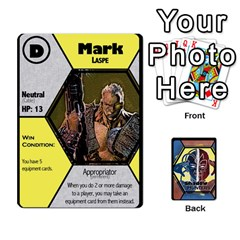 Shadow Hunters / X Men Re Theme (bill s Wedding) By Ajax   Playing Cards 54 Designs   Ky9a8659osmz   Www Artscow Com Front - Spade7