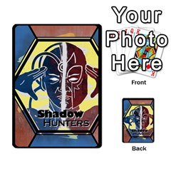 Shadow Hunters / X Men Re Theme (bill s Wedding) By Ajax   Playing Cards 54 Designs   Ky9a8659osmz   Www Artscow Com Back