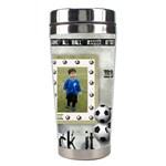 Tumbler_Soccer - Stainless Steel Travel Tumbler