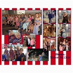 Miller Calendar For 2014 By Anna   Wall Calendar 11  X 8 5  (12 Months)   Wr6ikmco2gav   Www Artscow Com Month