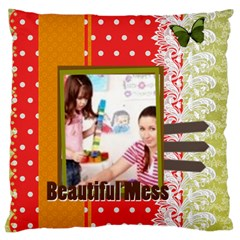 Kids By Kids   Large Cushion Case (two Sides)   Fzdx0h9c0bwx   Www Artscow Com Front