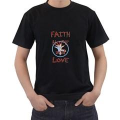 T Shirt Design      Mens' Two Sided T Shirt (black)