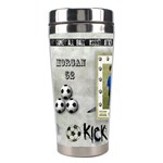Tumbler_Soccer_Final - Stainless Steel Travel Tumbler