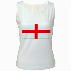 england flag Women s Tank Top from CowCow.com Front