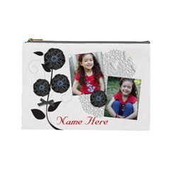 Cosmetic Bag (large)   Classic Love By Jennyl   Cosmetic Bag (large)   1hbad1719299   Www Artscow Com Front