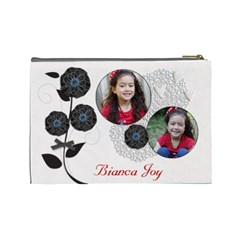 Cosmetic Bag (large)   Classic Love By Jennyl   Cosmetic Bag (large)   1hbad1719299   Www Artscow Com Back