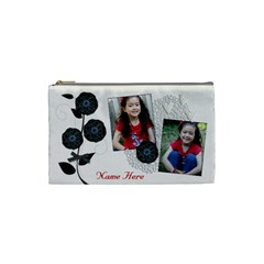 Cosmetic Bag (small)   Classic Love By Jennyl   Cosmetic Bag (small)   Tjj50q4wi0b3   Www Artscow Com Front