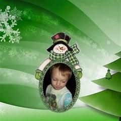 Snowman Storage Stool By Joy Johns   Storage Stool 12    Yhycl5hrmvz0   Www Artscow Com Front