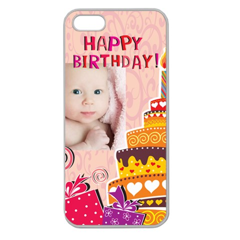 Happy Birthday By Happy Birthday   Apple Seamless Iphone 5 Case (clear)   Fvbt8qotchsy   Www Artscow Com Front
