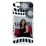 Black and White iPhone 5S Premium Hardshell Case - iPhone 5S/ SE Premium Hardshell Case