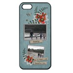 Apple iPhone 5  -Thankful - Apple iPhone 5 Seamless Case (Black)