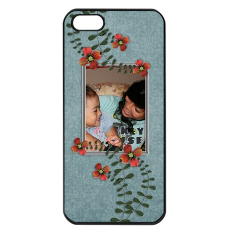 Apple Iphone 5    Flowers By Jennyl   Apple Iphone 5 Seamless Case (black)   Hulgi4itx5v5   Www Artscow Com Front