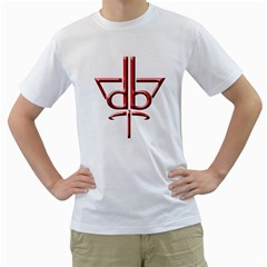 Design Bureau Mens  T Shirt (white) by Contest1736471
