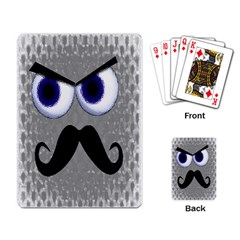 Moustache Playing Cards Single Design by Contest1736471
