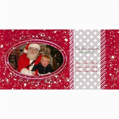 Christmas Cards 1 By Emily   4  X 8  Photo Cards   C22smycabp1t   Www Artscow Com 8 x4 Photo Card - 8