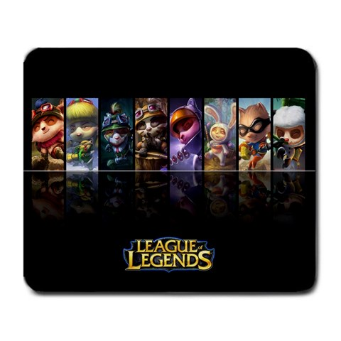 League Teemo By Christopher Whidden   Large Mousepad   Ihekyb35lgvk   Www Artscow Com Front