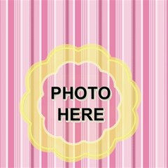 Baby Girl Storage Stool By Joy Johns   Storage Stool 12    Q6hwvd2sqjf5   Www Artscow Com Front
