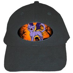 Serukivampirecat Black Baseball Cap by Kittichu