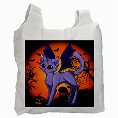 Serukivampirecat Recycle Bag (two Sides) by Kittichu