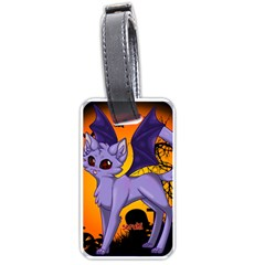 Serukivampirecat Luggage Tag (two Sides)