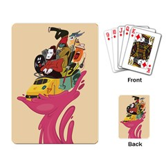 Urban Transit Playing Cards Single Design by Contest1738792