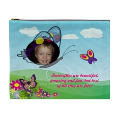Butterflyxl Cosmetic Bag By Joy Johns   Cosmetic Bag (xl)   M9cma1rkb4w0   Www Artscow Com Front