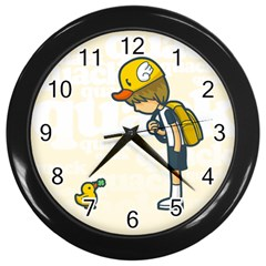 Quack Wall Clock (Black) by Contest1739121