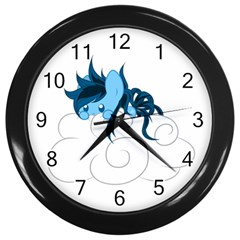 Hiding Wall Clock (black) by Contest1739202