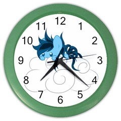 Hiding Wall Clock (color) by Contest1739202