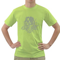 Join the Dark Side! Mens  T-shirt (Green) by Contest1732527