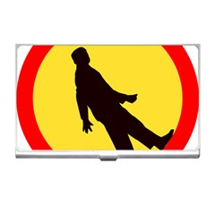 Walking Traffic Sign Business Card Holder by youshidesign