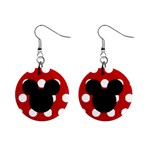 Lee Lee earrings 1 - 1  Button Earrings