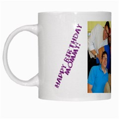 Mommys Birthday Mug By Laya   White Mug   L1vvqb77fge3   Www Artscow Com Left