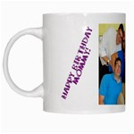 mommys birthday mug - White Mug