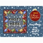 Holiday Card #1, 5X7 - 5  x 7  Photo Cards