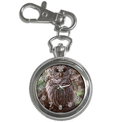 BARRED BROWL OWL KEY RING WATCH Key Chain Watch by D304863A