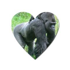 Gorilla Dad Magnet (heart) by plindlau