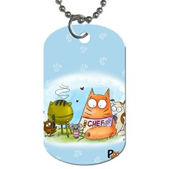 Apron Dog Tag (two Sided)  by PookieCatWorld