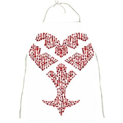 Key Heart 2 Apron by Nightmarechild