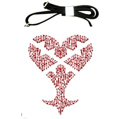 Key Heart 2 Shoulder Sling Bag by Nightmarechild