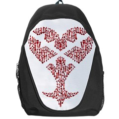 Key Heart 2 Backpack Bag by Nightmarechild
