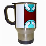 Project12 Travel Mug (White) from CowCow.com Left