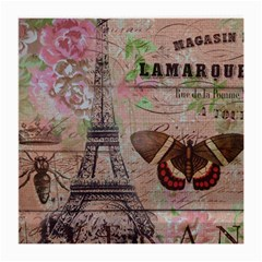 Girly Bee Crown  Butterfly Paris Eiffel Tower Fashion Glasses Cloth (medium) by chicelegantboutique