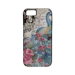 French Vintage Chandelier Blue Peacock Floral Paris Decor Apple Iphone 5 Classic Hardshell Case (pc+silicone) by chicelegantboutique