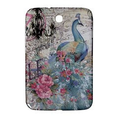 French Vintage Chandelier Blue Peacock Floral Paris Decor Samsung Galaxy Note 8 0 N5100 Hardshell Case  by chicelegantboutique