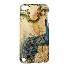 Victorian Swirls Peacock Floral Paris Decor Apple Ipod Touch 5 Hardshell Case by chicelegantboutique