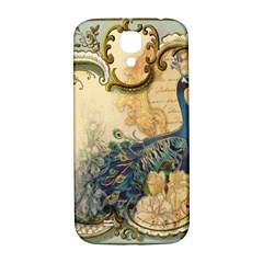 Victorian Swirls Peacock Floral Paris Decor Samsung Galaxy S4 I9500/i9505  Hardshell Back Case by chicelegantboutique