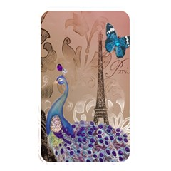 Modern Butterfly  Floral Paris Eiffel Tower Decor Memory Card Reader (rectangular) by chicelegantboutique